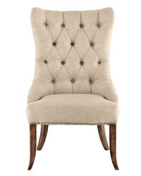 Wooden Tufted Dining Chair, Wooden Furniture