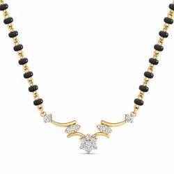 Diamond Mangalsutra Pendant