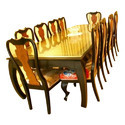 10 Seater Wooden Dining Table
