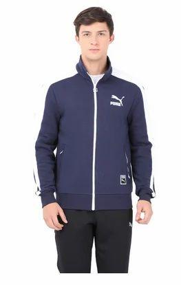c7d8df028c6e Puma Blue India T7 Men  s Track Men Jacket Peacoat