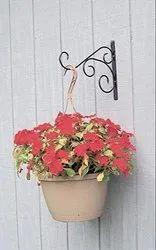 Coir Garden Hanging Plant Brackets, Wall Planter Hook For Flower Pots, Bird Feeder, Wind Chime,