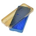 Medium Plastic Sterilization Tray With Strip
