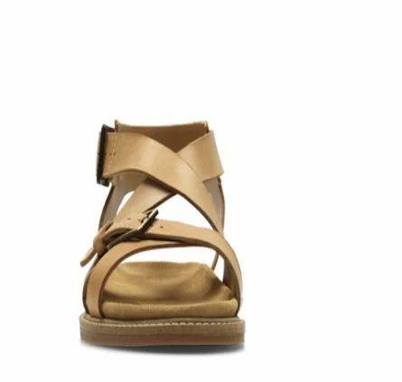 fb1f5ac3292 Clarks Women Corsio Bambi Light Tan Leather Sandal