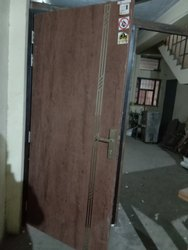 Standard Iron Metal door with frame, For Home
