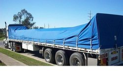 Blue Cotton Canvas Tarpaulins