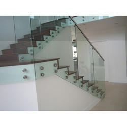Panel Stair Glass Railing