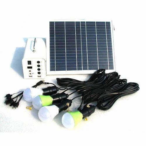 Led Solar Home Lighting Kit