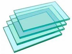 Transparent Toughned Glass, Size: 101-500 Square Feet, Shape: Flat