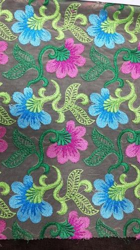 Coding Embroidery Fabrics At Rs 270 Meter Embroidered Fabrics