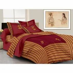 Patch Work Double Bedsheet