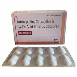 Amoxicillin Cloxacillin And Lactic Acid Bacillus Capsules
