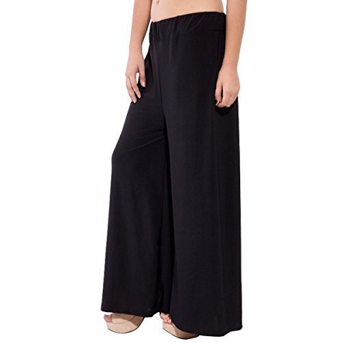 a53ba800de Lycra Cotton Plain Black Palazzo Pants, Rs 250 /piece, Denit Fashion ...