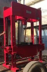 Hand Operating Hydraulic Press 100 Ton