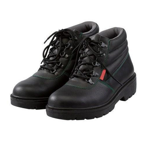 ISO Black Workman Safety Shoes, Packaging Type: Box, Size: 6 - 10