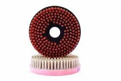 200 mm Diamond Round Brush
