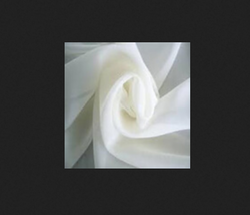 Georgette Grey Fabric