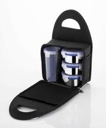 Kkart Black Royal Stainless Steel Lunch Box, Capacity: 300 Ml