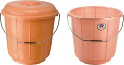 Plastic Bucket With and Without Lid