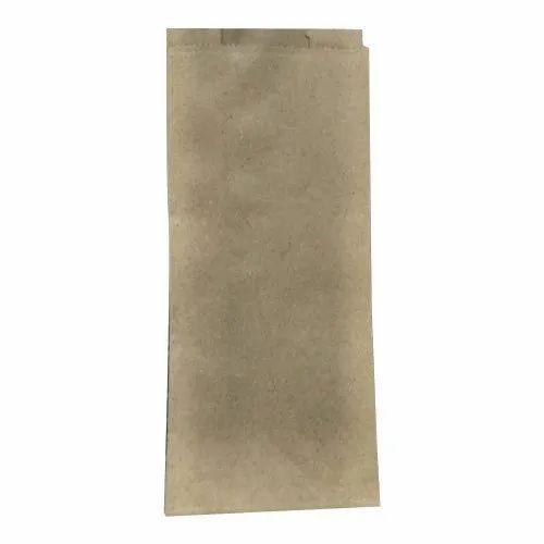Plain Brown Paper Food Bag, Packaging Type: Packet, Capacity: 100gm-5 Kg