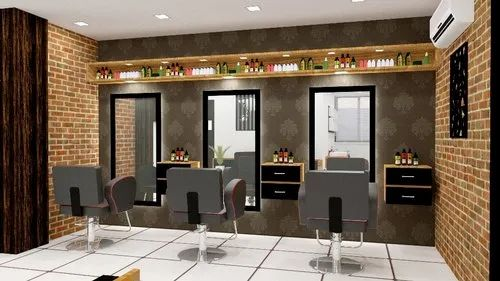 Plastic Beauty Parlour Interior Design Kedar Designs Id 18382602233