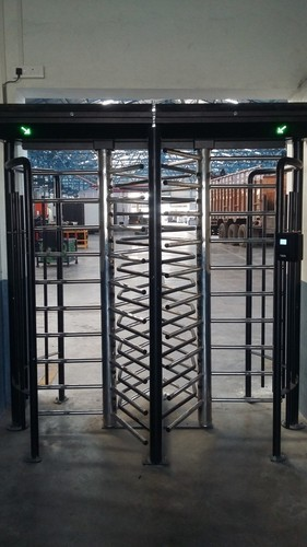 Full Height Turnstile with Face Recognition Base Access Control System, Power Supply: 180 ~ 270V, 47 ~ 63Hz