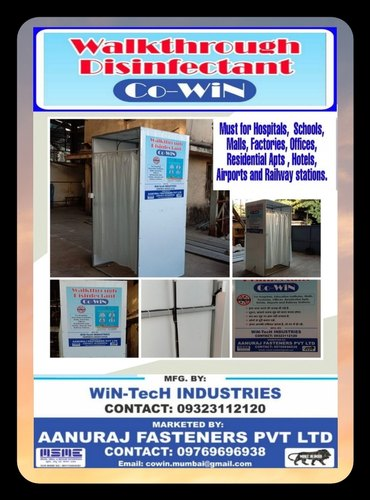 CO-Win 01 Disinfectant Sanitizing Tunnel Cabin