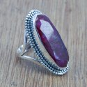 925 Silver Tiger Eye Gemstone Ring