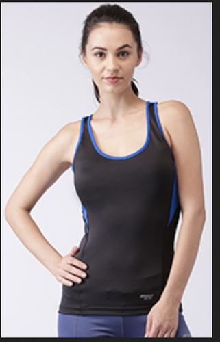3d5ae0e16c S- M -l- Xl Round Neck Sleeveless Racer Back Tank Top, Rs 479 /piece ...