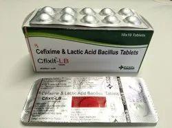 Cefixime & Lactic Acid Bacillius Dispersible Tablets(CFIXIT-LB)