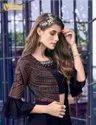 Designer Salwar Kameez Gown Type Catalog Swagat Violet 6401 To 6409