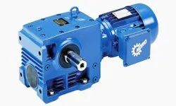 Unicase Helical Worm Geared Motors