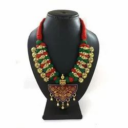 Meenakari Kolhapuri Gold Plated Necklace