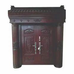 Brown Polished Zinc Alloy Villa Door