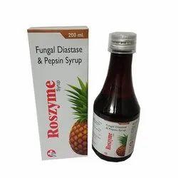 Fungal Diastase (1:800 ) 50 mg & Papain 30 mg, Energy vaiue 30kcal, Carbohydrates 7.5 mg