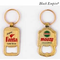 Golden Metal Keychain