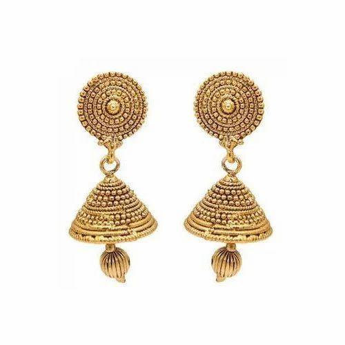 31fe2552d9a Golden Ladies Designer Earrings