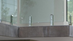 Classic Glass Hand Railings
