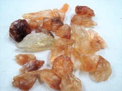 Natural Untreated Citrine Rough Raw Stone