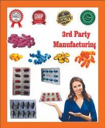 3rd Party Manufacturing Softgel Capsules Tablets