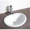 Hindware Mini Oval Counter Top Self Rimming Wash Basin