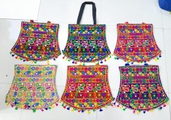 Cotton Embroidered Ladies Fashion Bags