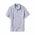 Organic Mens Half Sleeves Shirt
