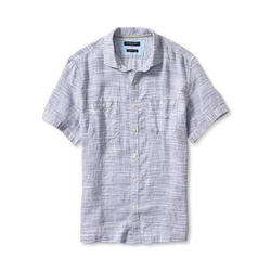 Cotton Organic Mens Half Sleeves Shirt