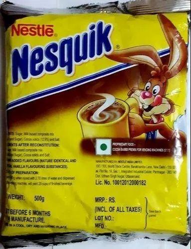 Nescafe Nestle Nesquik ( Hot Chocolate