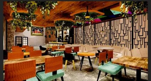 Restaurant Interiors Designing & Turnkey Solutions