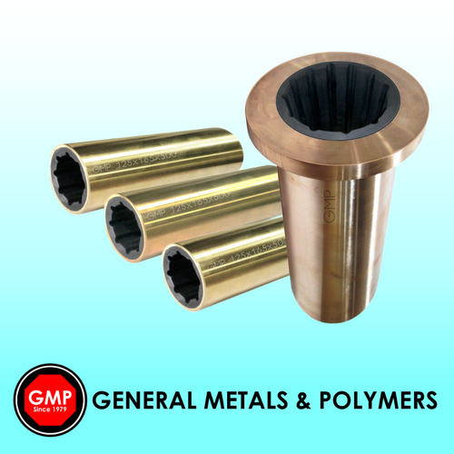 Metal Shell Cutlass Rubber Bearing