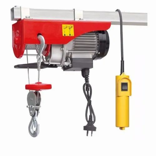 Without Trolley Damar Electric Hoists, Capacity: Upto 10 T, 240 V