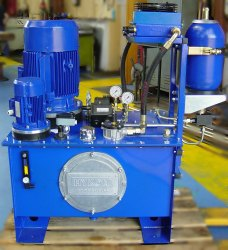 Hydraulic Power Pack With Heat Exchanger