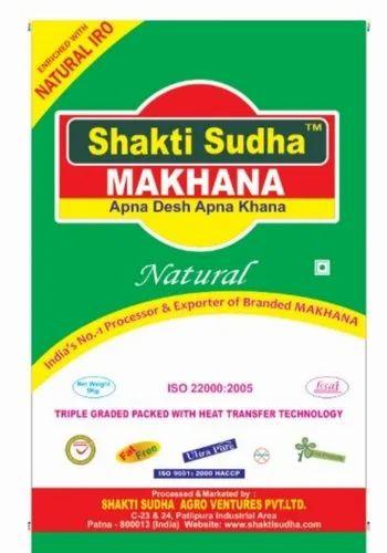 Shakti Sudha Makhana 5 Kg Bag