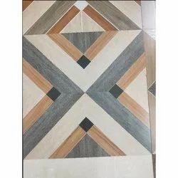 Ceramic Printed Modular Floor Tile, Thickness: 12 - 14 mm, Size: 60 x 60 cm